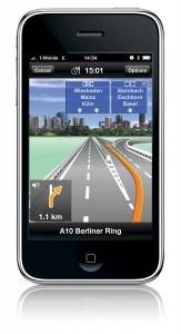 MobileNavigator für iPhone (Quelle:obs/NAVIGON AG)