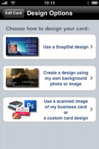 snapdat - Design Varianten