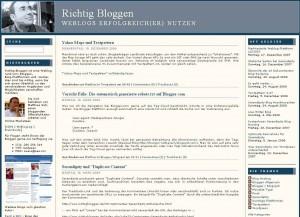 Richtig Bloggen