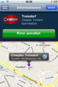 Cineplex App - Kinoinfos