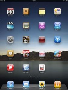 Mein iPad