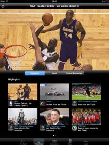 Sky Sport App - Newsbereich