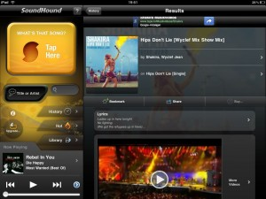 Soundhound-iPad version