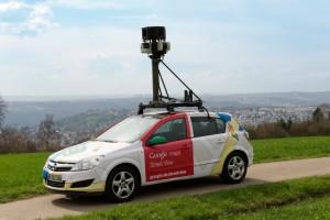 Google Streetview-Fahrzeug (Quelle: Google Presseseite)