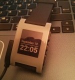 Meine Pebble Smartwatch