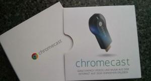 Chromecast aus der Packung befreien