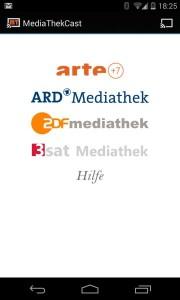Mediathek App für Android