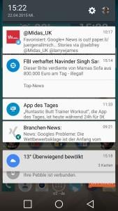 Android 5.0 - Benachrichtigungen
