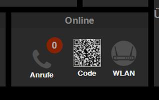 Anzeige der verpassten Anrufe im TabletUI